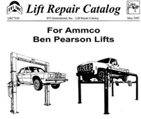 rotary 2 post car lift car repair manuals and wiring