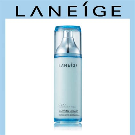 Laneige Balancing Emulsion Light qoo10 laneige balancing emulsion light moisture sensitive 120ml cosmetics