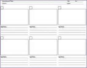 storyboard template pdf samplenotary cam