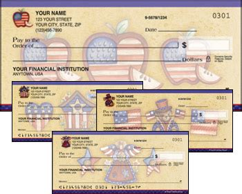 bank checks order order american flag bank checks