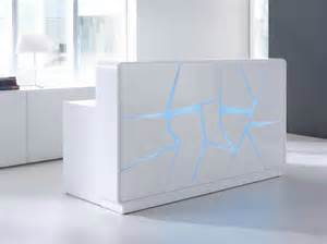 Modern Reception Desk Fryst Modern Reception Desk With Alternating Led Lighting Sku Of4s Fryst Price 9 687 00