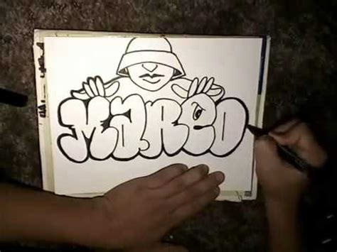 drawing marco throw   graffiti character  chino