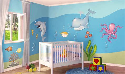 Stickers Per Camerette Bambini by Stickers Murali Bambini Cameretta In Fondo Al Mare