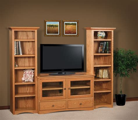 bookcase with tv stand best home design 2018