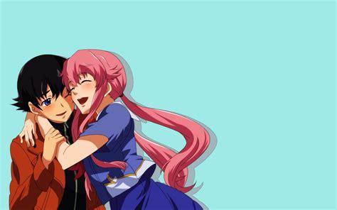 wallpaper anime yuno mirai nikki gasai yuno yandere yukiteru amano anime