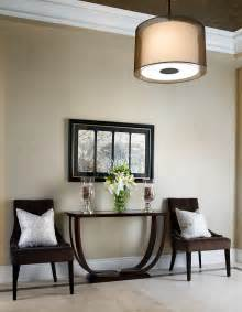 beautiful How To Decorate A Foyer In A Home #2: Simple-Earthy-Foyer-Decor.jpg