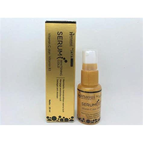 Serum Whitening Gold Hanasui hanasui serum whitening gold bpom serum gold bpom