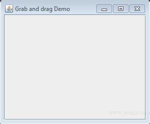swing drag and drop java tutorial create a drag image with label in java