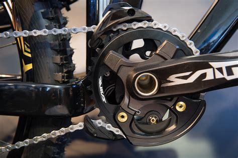 mountain rubber st shimano prototype chainguide debuts at sea otter pinkbike