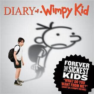 wimpy song what do you want from me forever the sickest kids song