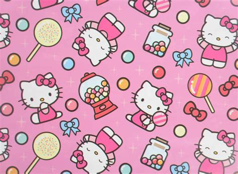 hello kitty gift wrap pack of 10