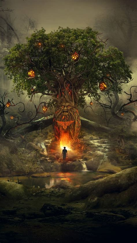 scary forest dream  wallpapers hd wallpapers id