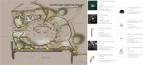 layout for landscape lighting wac design your landscape lighting in 5 easy steps