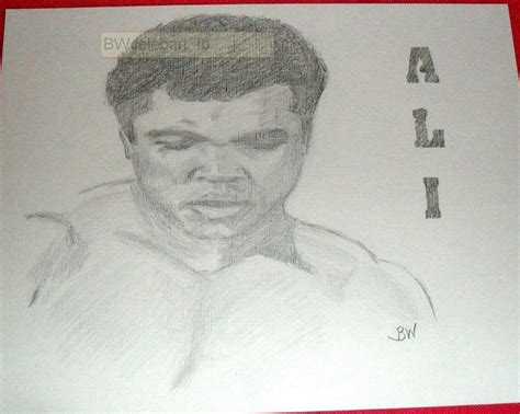 Pencil Alis 1000 images about sports drawings on sylvester stallone pencil drawings and the o jays