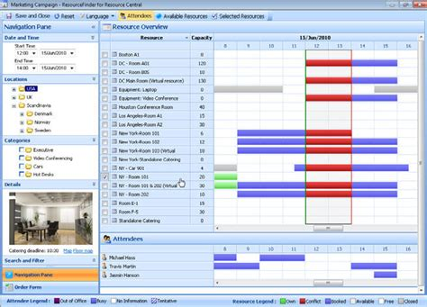 Outlook Book A Room by Meeting Room Booking Software Demo Quotes