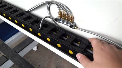 ruter systems lubrication system connection of cnc router