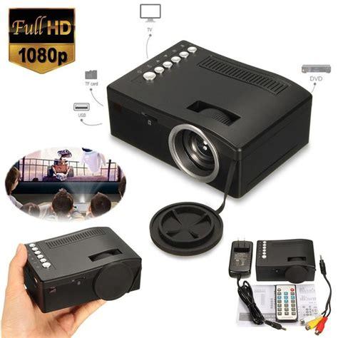full hd p home theater led mini portable projector