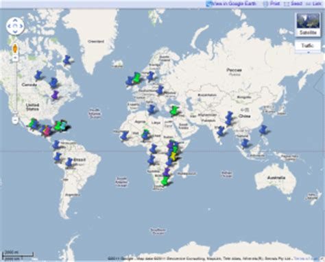 toronto in world map resource shows church connections around the world the