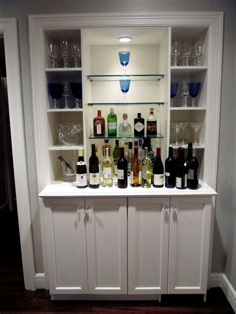 turning closet into bar 17 best images about glass shelves on pinterest floating