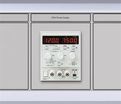 test bench power supply calibration test bench power supply modules