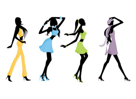 fashion clipart dapinographics 187 silhouette fashion
