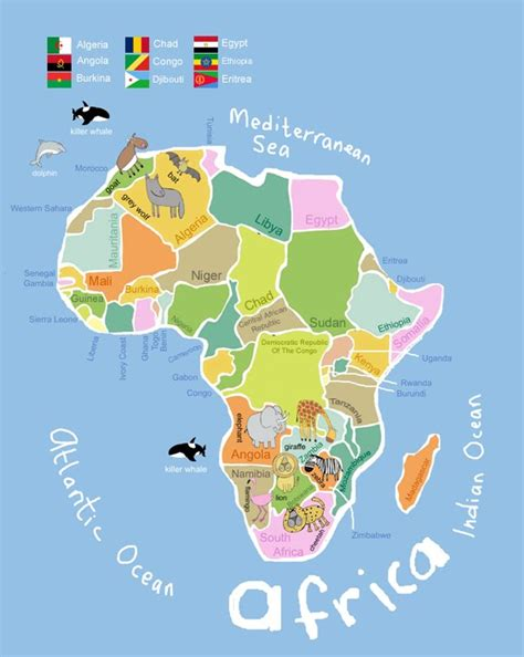 africa map for students its s a jungle in here getting there