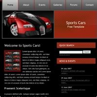 free car templates cars free website templates for free about 18
