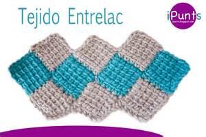 paso a paso tutorial tejido entrelac rombos a crochet paso a paso