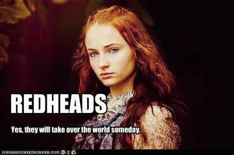 Red Head Meme - via meme of ice and fire hair inspirado pinterest