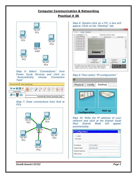 a step by step guide to set up your brand s youtube step by step guide to set up a simple network in packet tracer