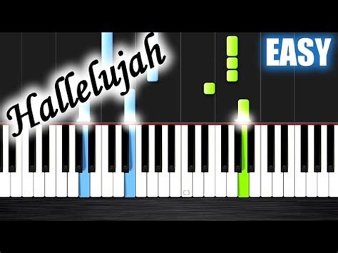 tutorial piano keep being you hallelujah easy piano tutorial by plutax youtube
