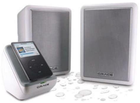 backyard stereo system grace digital audio gdi scn300w schooners outdoor wireless