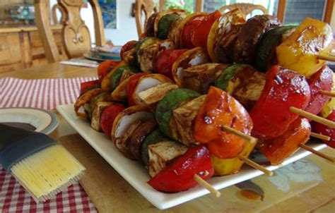 vegetarian barbecue recipes features pbs food