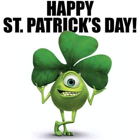 Happy St Pattys Day Are You Wearing Green by 86 Best Images About Monsters Inc On