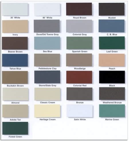 siding colors home depot 28 images siding color chart