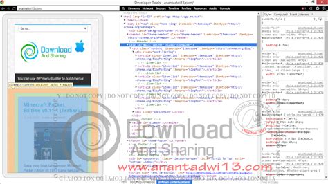 inspect element android cara membuka inspect element di android anantadwi13