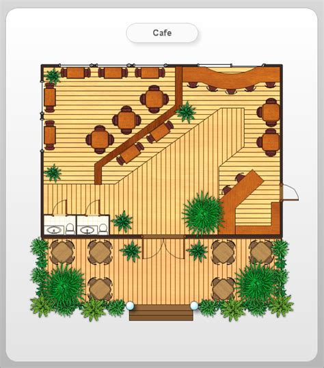 cafe floor plans professional building drawing caf 233 floor plan exle professional building drawing