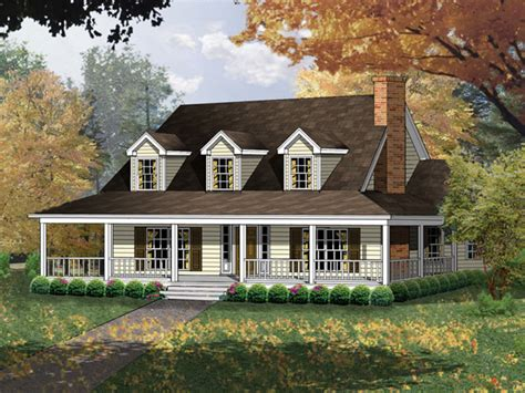 Cape Cod Farmhouse | farmhouse plans country house plans home designs