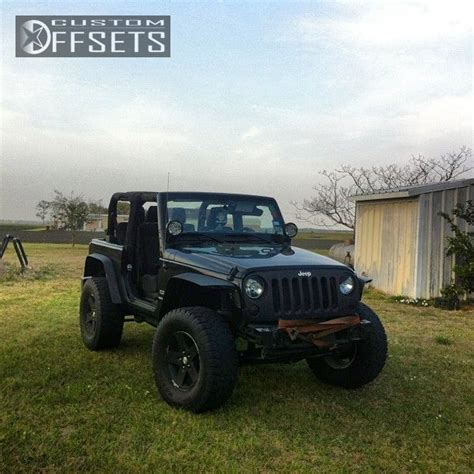 Custom Jeep Fenders Wheel Offset 2012 Jeep Wrangler Aggressive 1 Outside