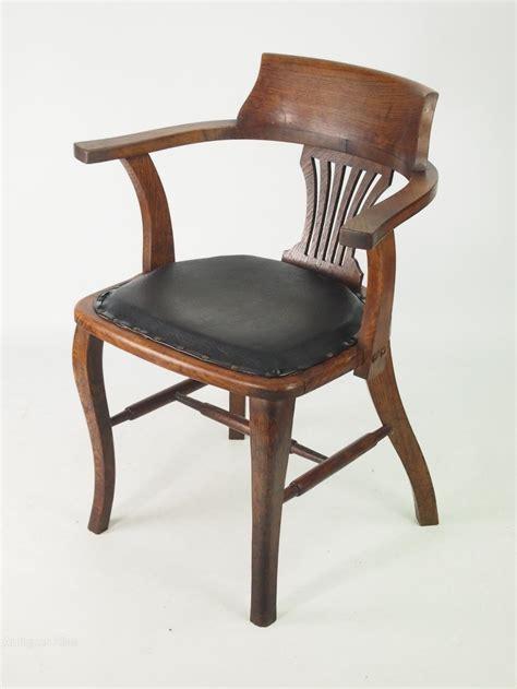 Captains Chair Oak Desk Chair Or Captains Chair Antiques Atlas