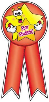 dominie star student award ribbon stickers