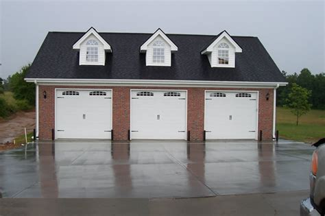 3 car garages 3 car garage with gable dormers