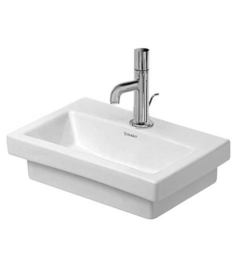 duravit bathroom sink duravit 07904000 2nd floor wall mount porcelain bathroom sink