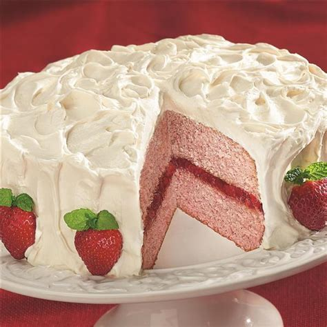 Strawberry St312 Omega 2 8inch strawberry delight cake