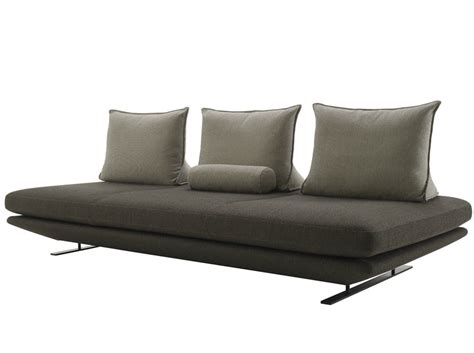 ligne roset bench upholstered fabric bench prado by ligne roset design