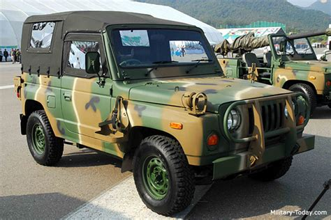 Army Kia Kia Km420 Light Utility Vehicle Today