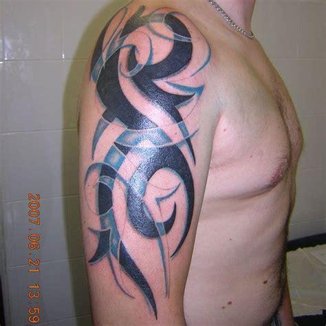 colour tribal tattoos two color arm tattoos para invejar e querer igual