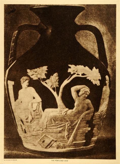 Barberini Vase by 1919 Photogravure Portland Barberini Vase Ancient