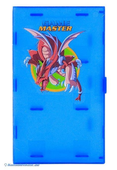 GameBoy Advance   Yu Gi Oh!   Card Game Case #blau [Game