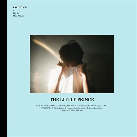 k2nblog mini album ryeowook the prince the 1st